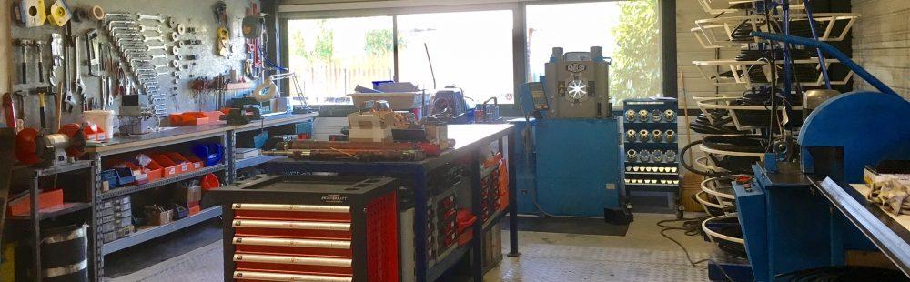 HYDRA Technic - atelier de fabrication